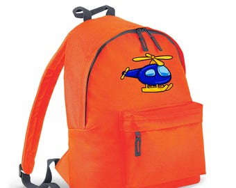 Helicopter kids backpack