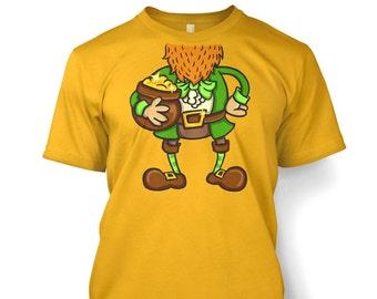 Leprechaun Head Costume t-shirt