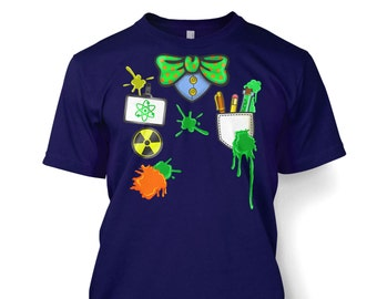 Mad Scientist Costume men's t-shirt