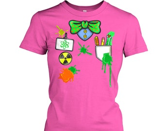 Mad Scientist Costume women's t-shirt