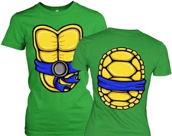 Turtle Power Costume womens t-shirt