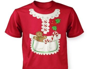 b1b629d4d7 Mrs Claus Costume kids t-shirt