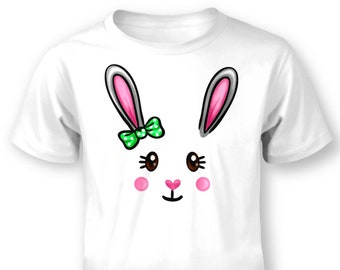 Bunny Face baby t-shirt
