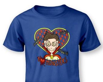 I Heart Monsters Vampire baby t-shirt