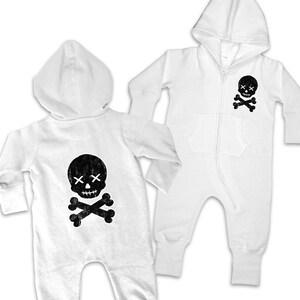Skull Crossbones Baby Clothes Etsy
