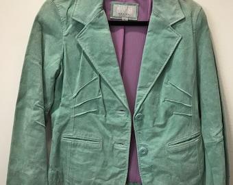 90's Vintage Suede Blazer
