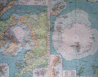 World Maps, Oceans