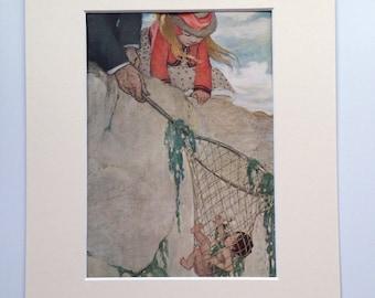 1929 Water Babies Illustration by Jessie Wilcox Smith - Children's Book Illustration - Wall Decor - Nursery Decor - Home Decor
