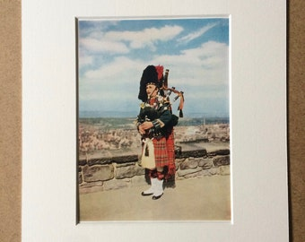 Bagpipes wall art | Etsy