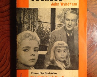 1960 Vintage Penguin Book, The Midwich Cuckoos by John Wyndham