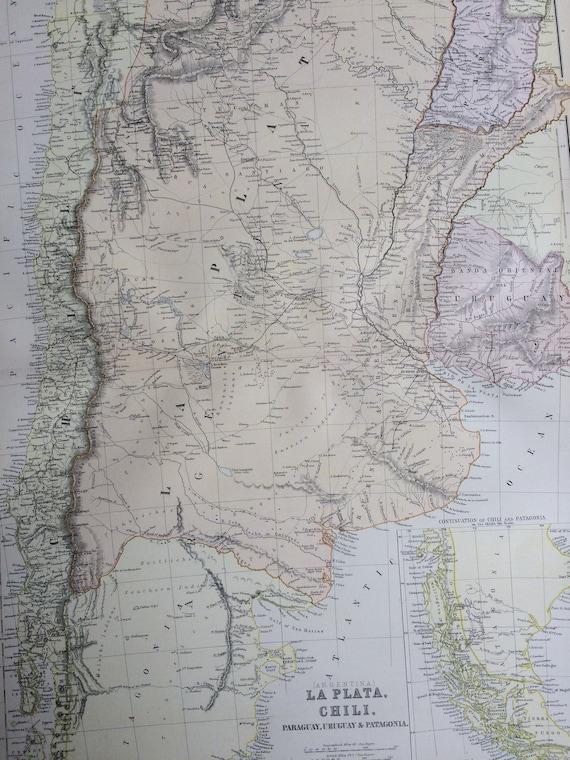 1882 La Plata Chili Uruguay Paraguay & Patagonia