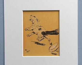 1926 Cecil Aldin Original Vintage Dog Illustration - Animal Art - Dog Drawing - Decorative Wall Art - Framed Art - Gift Idea