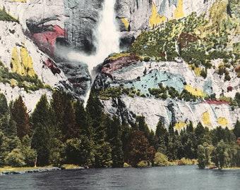 1943 Yosemite Falls, Yosemite National Park Original Vintage Photo Print - California - Available Framed