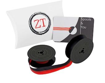 Olivetti Typewriter Ink Ribbon GR4 - Red & Black or Black - * Olivetti Lettera * Olivetti Studio * Olivetti Dora * Olivetti Valentine *