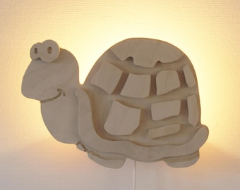 Wall lamp turtle