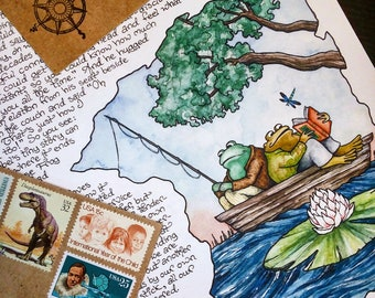 Letter #25: Frog and Toad