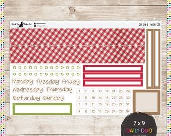 BOHO BEAUTY Planner Stickers DDM-029 Daily Duo Mini Kit