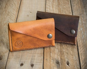 Leather Wallet, Mens Leather Wallet, Handmade Wallet, Card Holder, Leather, Card Pouch, Leather Card Holder,