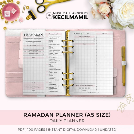 Ramadan Planner 2019 By Kecilmamil Printable Instant Etsy