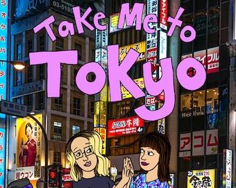 Travel Zine Tokyo Japan Comics