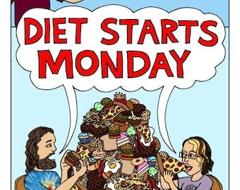 Zine- Diet Starts Monday