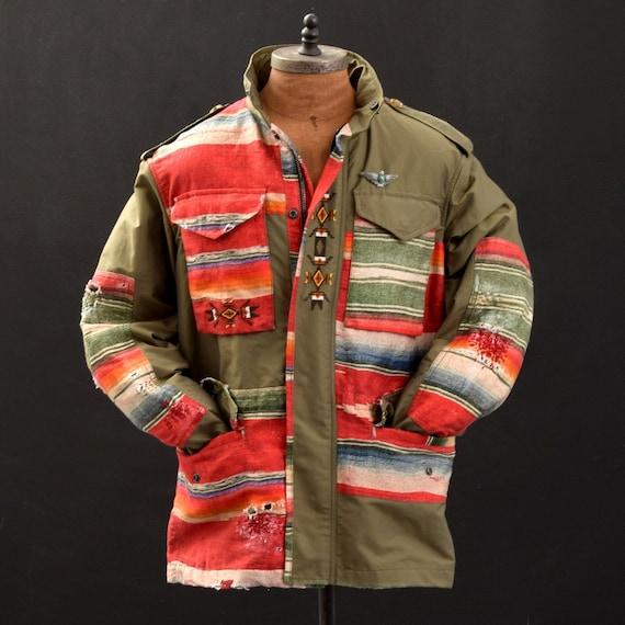 Ralph Lauren Limited Edition Serape Field Jacket,