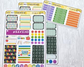 Back To School Weekly Kit (Set of 34) Item #279