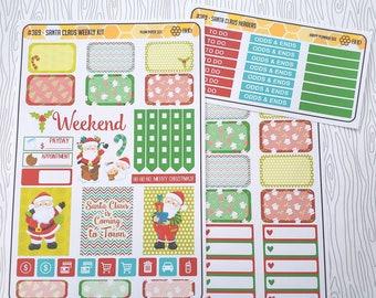 Santa Claus Weekly Kit (Set of 34) Item #369