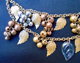 Necklace with Metal Beads