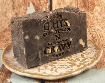 Charcoal Soap Acne - Charcoal soap bar - Charcoal Acne Soap - Acne Charcoal Soap - All natural Soap - Activated Charcoal - Detox Facial Soap