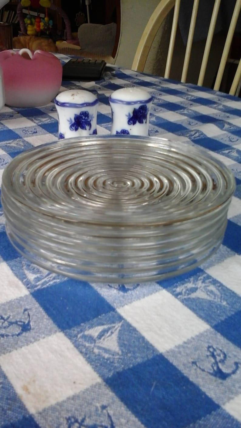 Anchor Hocking Manhattan six inch plate