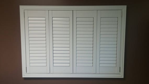 Plantation Shutters Faux Wood Shutters Bahama Style Etsy