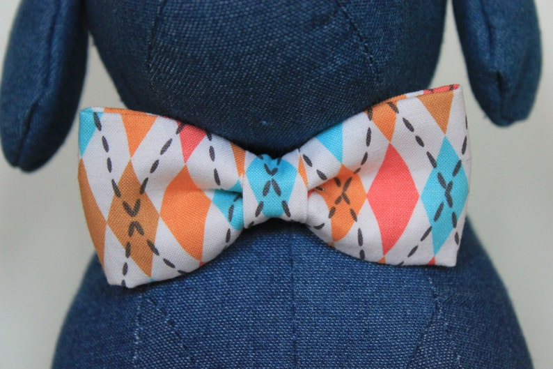 Bow Tie or Flower Collar Attachment & Accessory for Dogs and image 0