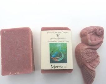 Mermaid Soap, Soap, Natural Soap, Handcrafted Soap, Bar Soap, Bath Soap, Mermaid