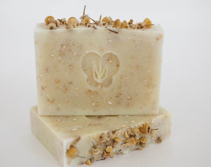 Featured listing image: OATMEAL - Cold Process Organic Soap - Avocado Butter