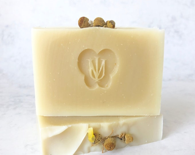 Featured listing image: COLLOIDAL OATMEAL & HONEY - Cold Process Organic Soap - Avocado Butter