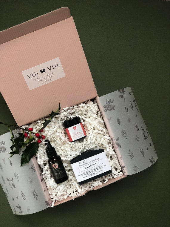 Christmas Gift Sets - Trio in a box - Face Oil, Face Soap & Hand/Body Balm