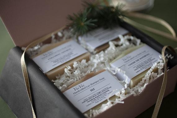 X'mas Gift Sets - 4 Soaps in a box