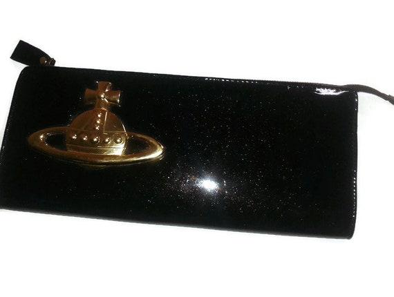 9c83891437 VIVIENNE WESTWOOD handbag Vintage Designer Black leather | Etsy