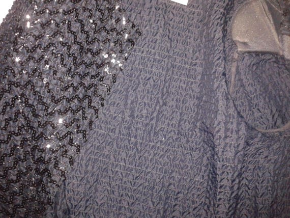 NEW DAZZLING SILVER SEQUIN EMBROIDERED BOLERO JACKET PARTY OCCASION
