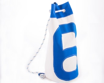 Recycled sail duffle bag