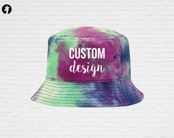 Custom Bucket Hats, Custom Tie Dye Hats, Bucket Hat Women, Custom Gifts, Bucket Hats Men, Gift for Mom, Printed Hats, Heat Vinyl