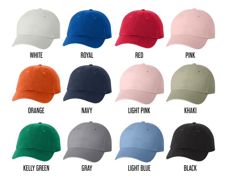 Custom hat print Small Fit Cap Custom Youth Hat Custom  8eb0880e3b42
