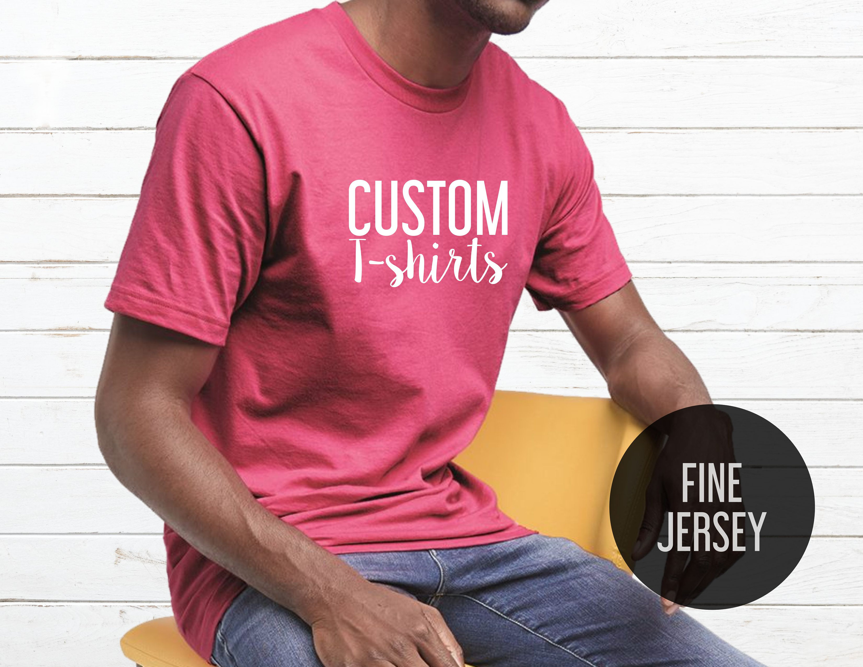 Custom T Shirts Premium Custom Unisex T Shirts Printing Etsy