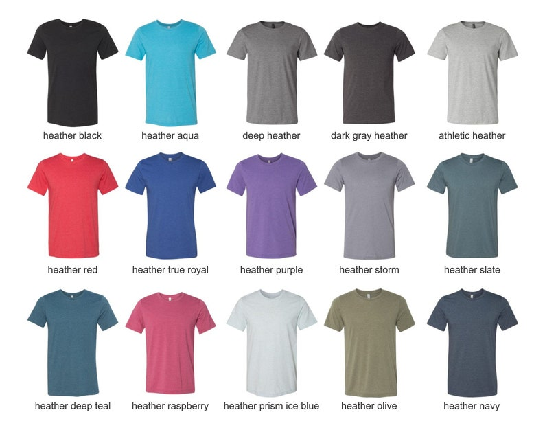 49253d7046d15 Unisex CVC Jersey T-shirt - Custom T-shirt Printing- Unisex T-shirts -  Custom T-shirt Print - Cotton/Poly - Tshirt printing Bella + Canvas