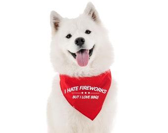 4th of July Dog Bandanas / Tie on Dog Bandana / Dog Bandana Personalized / Dog Scarf / Custom bandanas / Dog apparel / Indenpendence Day