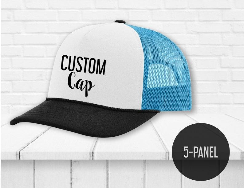 Custom unisex trucker snapback cap Custom printing  0929ff5d752