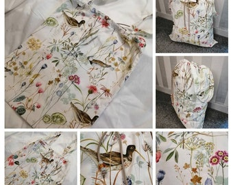 b665a14ae21fc Laundry Bag-Large and Travel Size-Pretty Storage Bag for Bedroom or  Bathroom-Hanging Laundry Bag-Laundry Organisation - Travel Laundry Bag