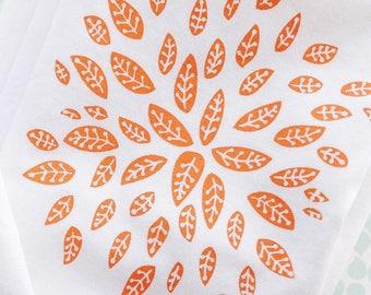 Chrysanthemum Bloom Tea Towel