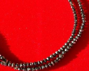 Rare!!!! Black diamonds bracelet